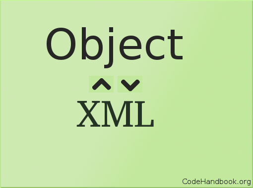 c# object to xml