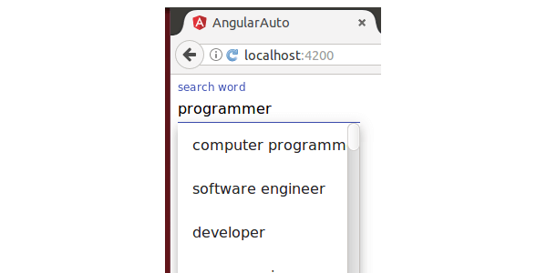 How To Implement Auto Complete In Angular 4 - Code Handbook