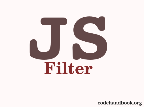 Array Manipulation Using JavaScript Filter Method